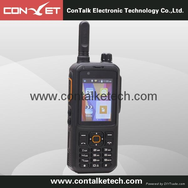 ContalkeTech CTET-6810 Android WCDMA GSM WIFI radio Built-in UHF frequency