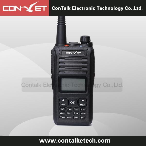 ContalkeTech 4G WCDMA Wifi two way radio CTET-88Plus Linux smart walkie talkie
