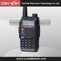 ContalkeTech Dual Band 2 Way Radio CTET-5880D UHF 400-470MHz and VHF 136-174MHz