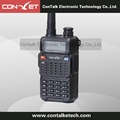 ContalkeTech Dual Band 2 Way Radio CTET-5870D UHF 400-470MHz and VHF 136-174MHz