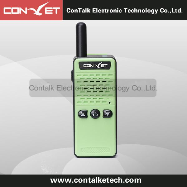 ContalkeTech CTET-Q76G high end mini size walkie talkie pmr gmrs two way radio