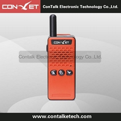 ContalkeTech CTET-Q76R high end mini size walkie talkie pmr gmrs two way radio
