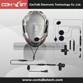 KX100K Full Face Motorcycle Car Racing Helmet Earpiece Headset Mic Microphone