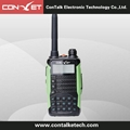 ContalkeTech UHF and VHF Dual Band 8W long range  2 Way Radio CTET-5870D DTMF
