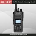 ContalkeTech 2 Way Radio CTET-5661 UHF 400-470MHz 5W CTCSS/DCS  VOX Dual Diaplay