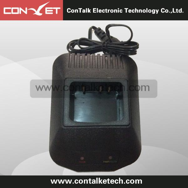 Two way Radio Ni-MH Ni-CD Li-ion Battery Charging Dock Desktop Charger