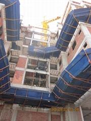 6m jib length 0.5t moving tower crane