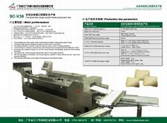 江門神川全自動化單排口袋麵包機