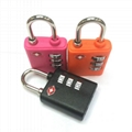 3 digit combination tsa lock