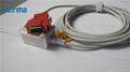 Masimo 20P-DB9F spo2 adapter cable spo2 extension cable  2