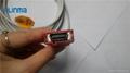 Masimo 20P-DB9F spo2 adapter cable spo2 extension cable  3