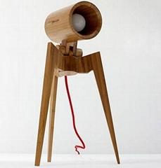 Standman bamboo table lamp