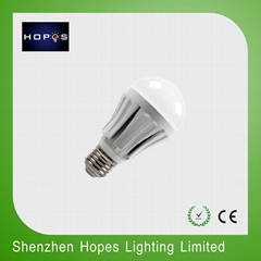 WIFI dimmable led bulb color temeprature adjustable E27 A60