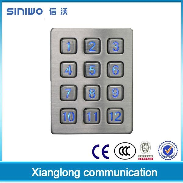 Stylish multifunctional USB keypad 5