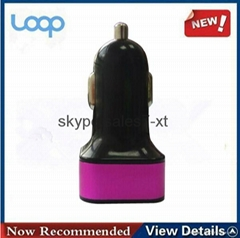 Mini Quick Car Charger Suitable for iPod/iPhone/iPad
