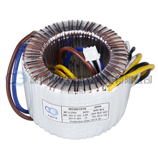 廠家銷售80AV環形變壓器 可定製 2
