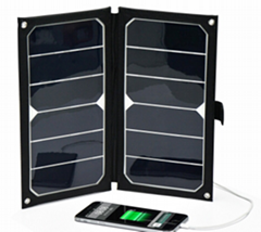 Newest release hot sale 12W  flexible solar charger
