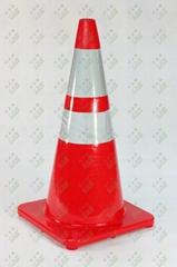 Fluorescent PVC Traffic Cone