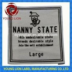 Colorful Garment Woven Label