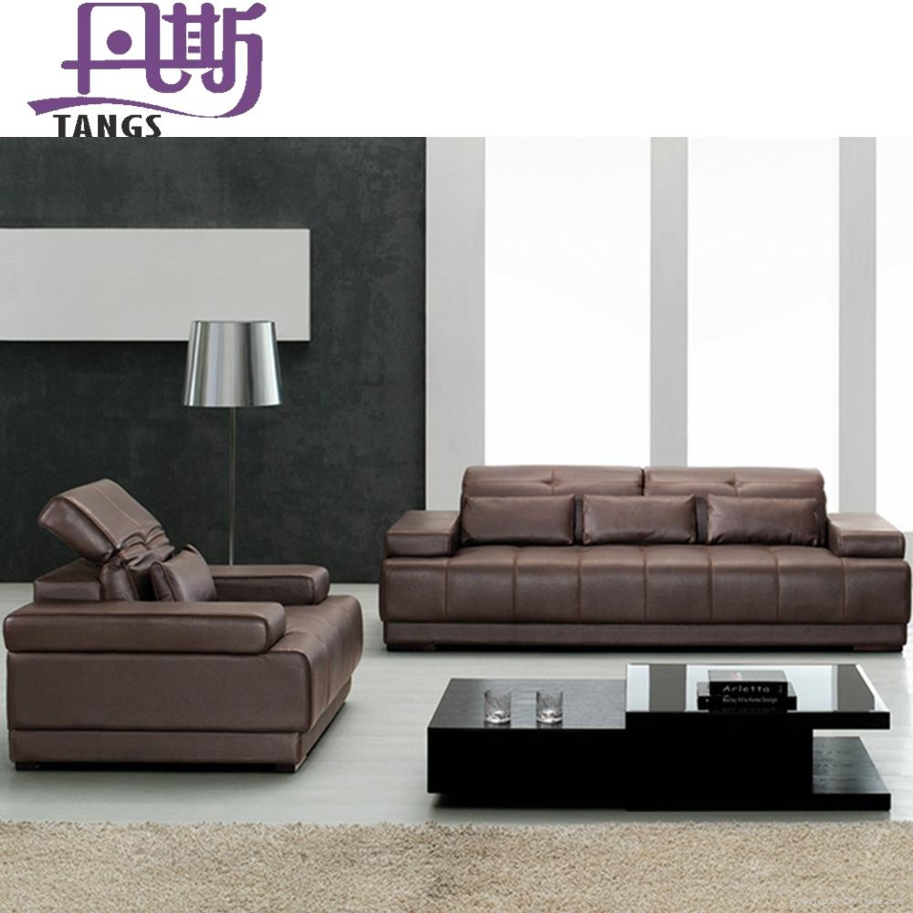 Top Quality Leather Sofa H881
