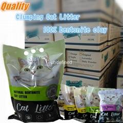 long term supply high grade bentonite cat litter