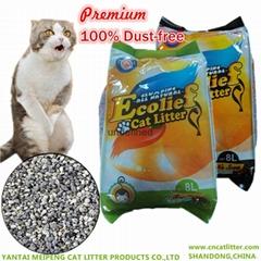 Ecolief Premium bentonite clumping cat litter