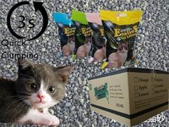 bentonite cat litter Meipeng factory