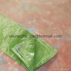 80-320gsm olive color pe tarpaulin