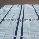 polyethylene striped tarp