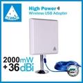 Outdoor WiFi antenna 36dbi High Power