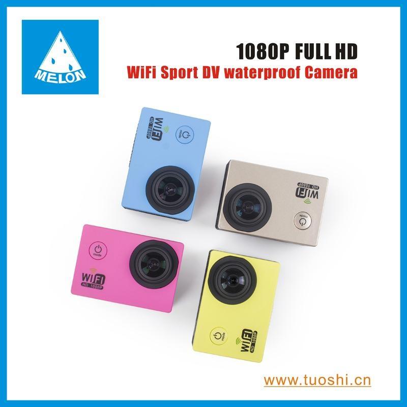 1080P 140 Degree Lens 2'' DV Bicycle Helmet Action Sport Camera  1