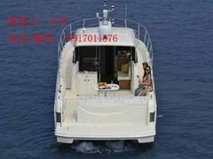 深圳玻璃鋼釣魚艇OCEANIA 45WA游釣艇廠家直銷
