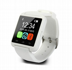 Hot Smart Watches, Bluetooth 4.1, Compatible with iOS 8.1, Pedometer, Remote Cam