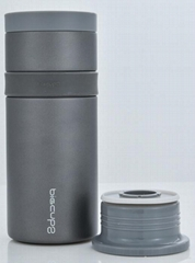 stainless steel vacuum flask with strainer and thermoses drinkware insulated vac