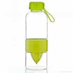 700ml high-borosilicate heat-resistant lemon glass cup bottle