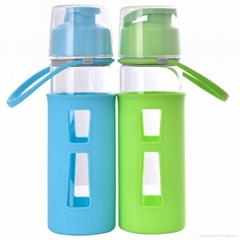 500ml big high-borosilicate heat-resistant creative cheap glass bottle flask cup