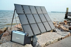 Wholesale Solar Generator with Pure Sine Wave Inverter