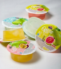 70g pomelo flavor series coconut customized fruit jelly