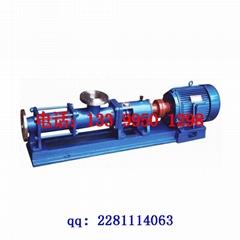 G型不鏽鋼單螺杆泵