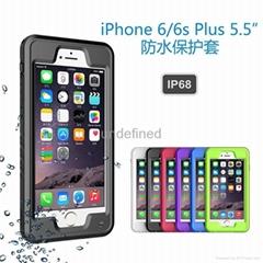 蘋果iPhone 6/6s Plus三防防水手機保護套