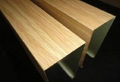 供应木纹转印铝型材
