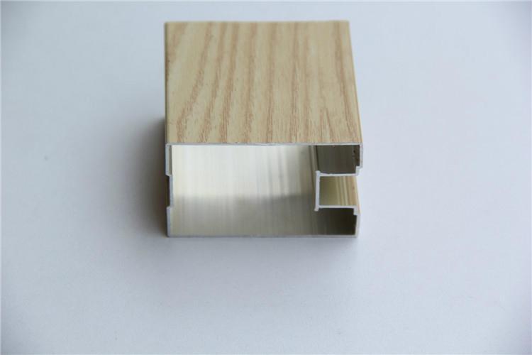 供应衣柜门装饰铝型材 3