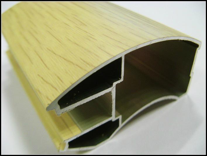 供应衣柜门装饰铝型材 5