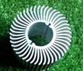 长期供应优质太阳花散热器工业铝