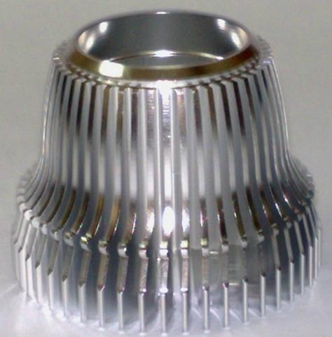 大量供应6063LED灯具工业铝型材 3