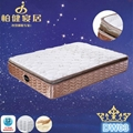 2015 New Pocket Spring Mattress With Latex Pillow Top 3