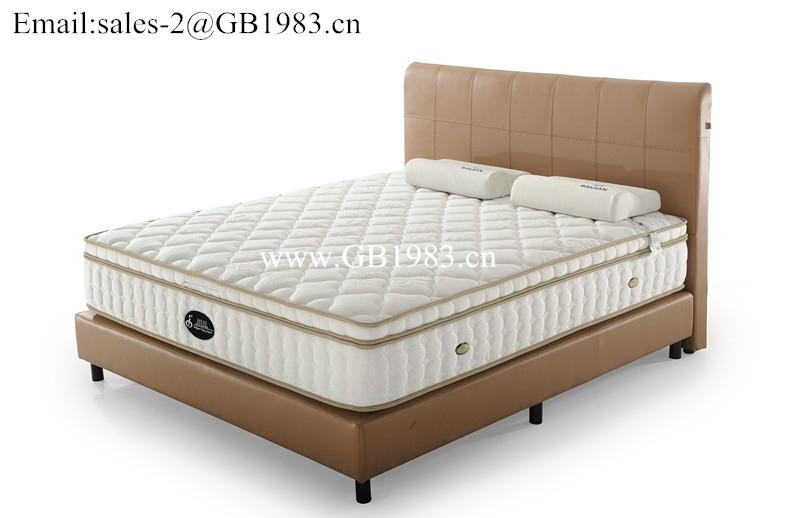 Super Soft Continuous Spring With Latex Mattress In Full Size 2