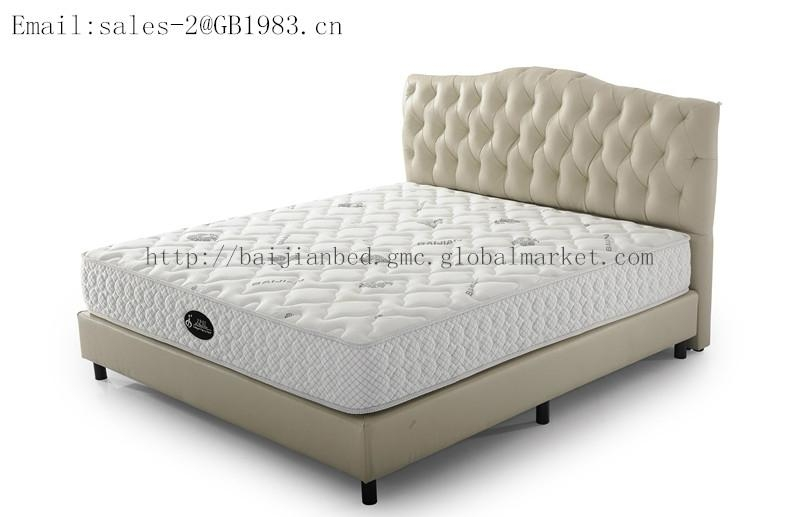 Super Soft Continuous Spring With Latex Mattress In Full Size 3