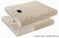 Super Soft Continuous Spring With Latex Mattress In Full Size 5