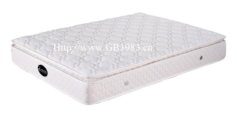 Economic Coil And High Density Foam Hybrid Mattress Wholsale 3